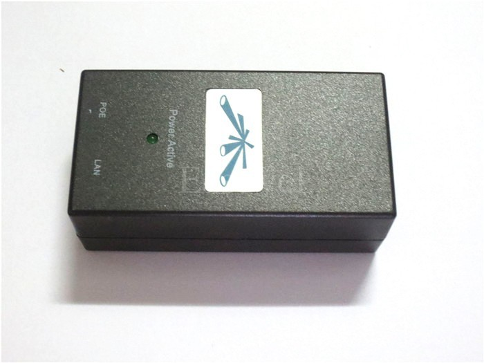 1шт новая poe инжектор-24 power-over-ethernet адаптер для poe инжектор 24v 1a 1000ma