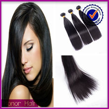 Wholesale 100% Natural Color Silky Straight Wave Brazilian Virgin Remy Human Hair