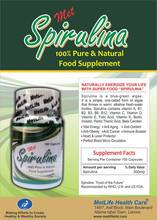 A MIRACLE HEALTH SUPPLEMENT (SUPER FOOD) SPIRULINA