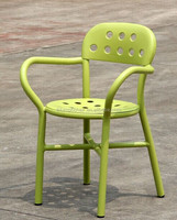 Antique Look Metal Dining Chair, Antique Look Metal Dining Chair
