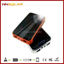 FCC Solar Charger, 8000mah solar charger for mobile phone , digital product solar charger