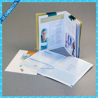 Customized designs dress brochure&shoes brochure&hotel brochure