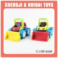 Hot selling items children plastic toy truck small vehicles