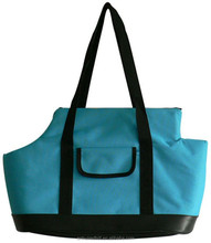 2015 hot sales pet bag pet carrier sturdy bag blue pet tote carrier