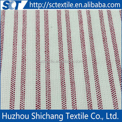 China Wholesale High Quality yarn dyed blue and white stripe fabric