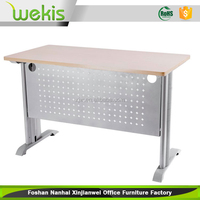 Cheap new arrival steel metal frame table with computer table