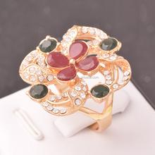 Flower Ring Alloy Yiwu Imitation Jewelry