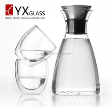 1000ml Drinking Glass Hot/ Cold Water Bottles/ Kettles/ Flasks on Promotion