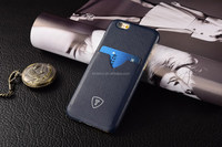 Navy Blue High quality cell phone case, OEM mobile phone cover, PU leather case