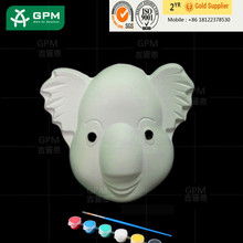 Paper carnival half face mask made in China