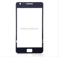 OEM Front Outer Glass Lens Screen Digitizer For Samsung Galaxy S2 touch Screen Cover Black White