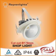 SAA Approved 30w shop windows led lighting led shop light with 3 years warranty