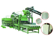 EPS cement wall panel manufacturing machine/EPS sandwich insulate panel production line