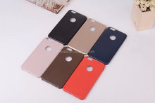 Solid color pu leather case for iphone6 plus, simple slim case for iphone6 plus