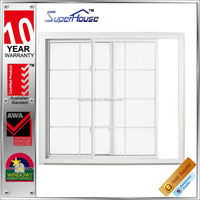 with AS2047 aluminium windows and doors Prefab house window grills design for sliding windows