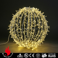 outdoor led flashing bouncing ball with multi-color light