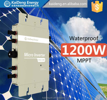 High Efficiency 250W Poly Solar Panel and 1200W Micro Inverter Manufacturer in China