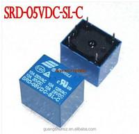5V DC SONGLE Power Relay SRD-05VDC-SL-C PCB Type