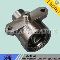 China manufacturer Metal casting thread bushing machinery spare parts OEM service
