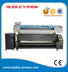 digital printer type and direct printing on flags, banners