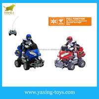 4 channel remote control motorcycle toy with driver for kids for sale (black wheel) YX000120