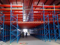 Storage Heavy Duty Multi-tier Mezzanine Platform Rack,Customized