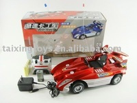 RC RED CAR WITH CHARGER