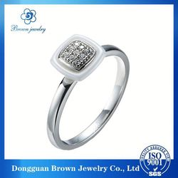 2014 hot-selling best price new fashion letter engagement ring