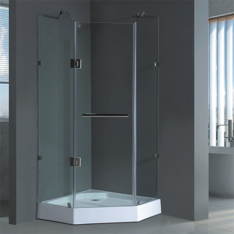 sans cadre auto-nettoyage en verre cabine de douche-salle de