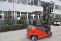 Waterproof function full AC drive motors electric forklift with 2T-2.5T capacity