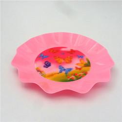 Flower Shape Bulk Production plastic Salad Fruit Plate