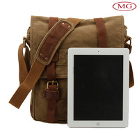 small moq wholesale popular canvas shoulder bag for ipad pro