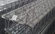 high grade Galvanized steel floor truss/ floor truss/truss plate