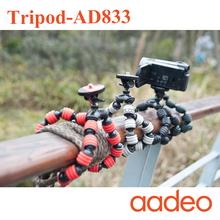 AADEO wholesale Flexible Leg Gorillapod Type Mini Tripod for Digital Camera and smart phone 161