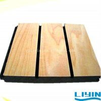 38.5-4 Grooved acoustic panel soundproof with plastic combination board