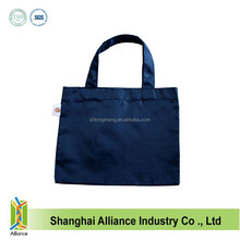 Direct Factory Manufacture Polyester Navy Blue Foldable Shopping Bag
