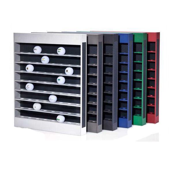 Hot selling products of metal golf ball display rack golf club rack