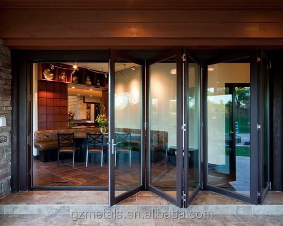 2015 new design lows interior folding doors aluminum bi for New door design 2015