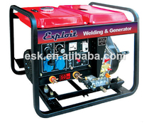 portable diesel welding generator and stick arc welding machine ED5GF-LEW