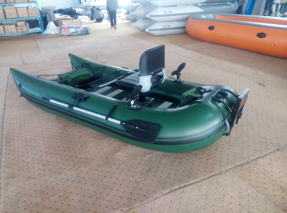 Cheap boat inflatable inflatable pontoon fishing boat for Inflatable fishing pontoon