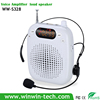 newest mini waistband amplifier speaker with headset condenser microphone