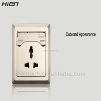China battery socket USB outlet with usb output 5V1A charge for cell phones without charger for home hotel airport use