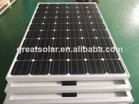 Full certificated cheap price 210W mono solar panels for home solar systems