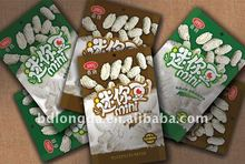 ecofriendly plastic packaging bag for snack packing