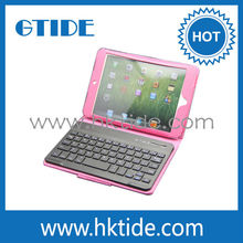 Pink case with bluetooth detachable keyboard 7 inch tablet