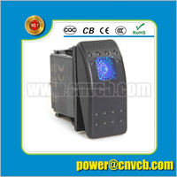 China factory 12V 20A laser etched cunstom boats electric power on off switch remote control switch