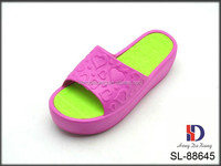 2015 lady high platform eva indoor slipper