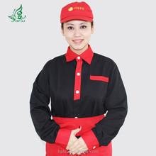 restaurant waitress uniform hotel waitress workwear cheap workwear