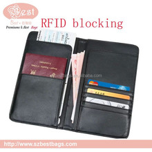 new product leather RFID blocking wallet RFID wallet