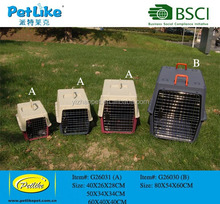 factory directly for pet travelling carrier and pet flight cage